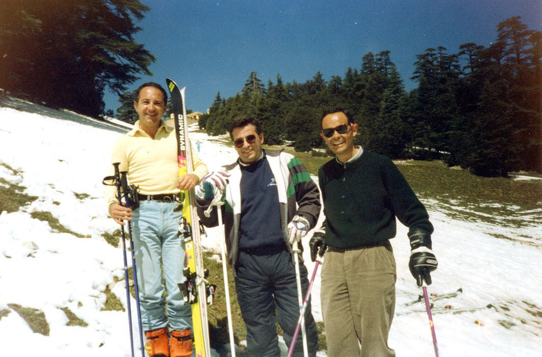 Eduardo Valenzuela director of operations posing on the slopes
