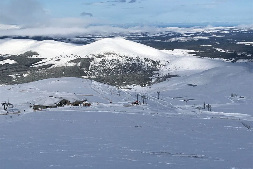 Cairngorm Mountain slopes