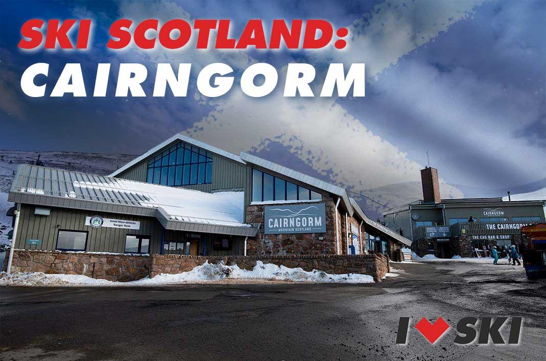 ski scotland: Cairngorm base station ski centre