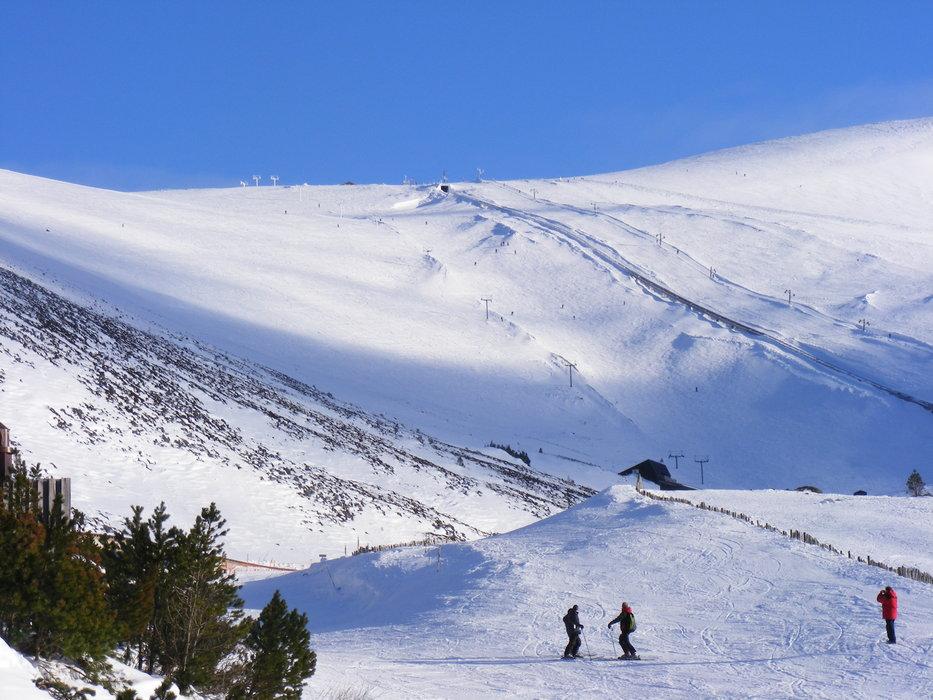 The slopes at Cairngorm Mountain Ski Centre