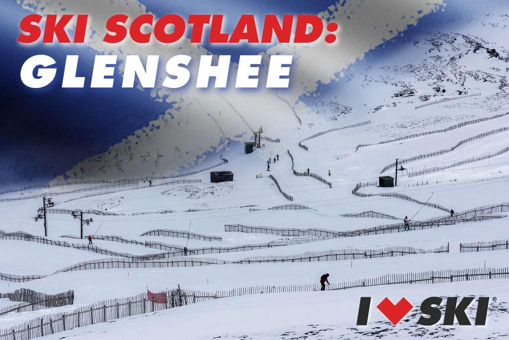 ski scotland: Glenshee ski centre