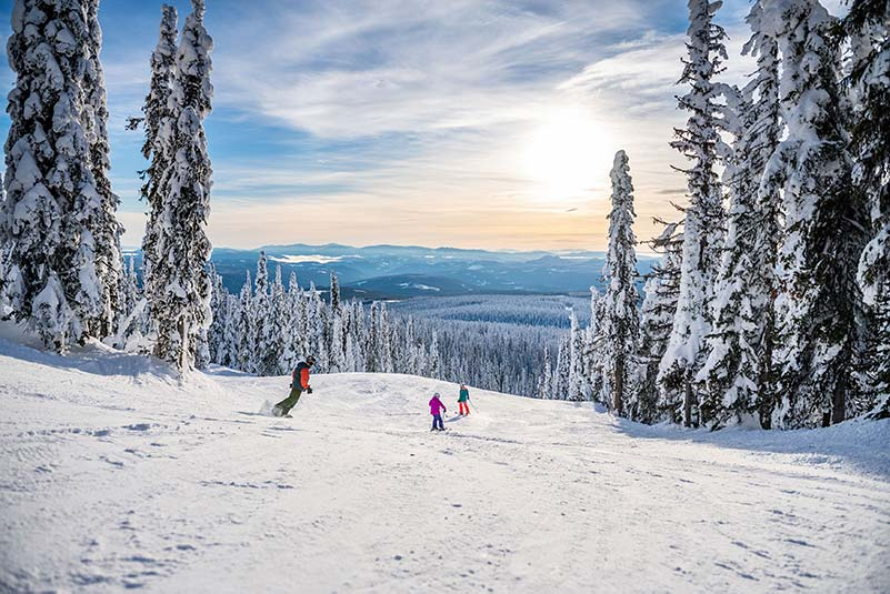 Big White Ski Resort_Canada. one of this year's open ski resorts