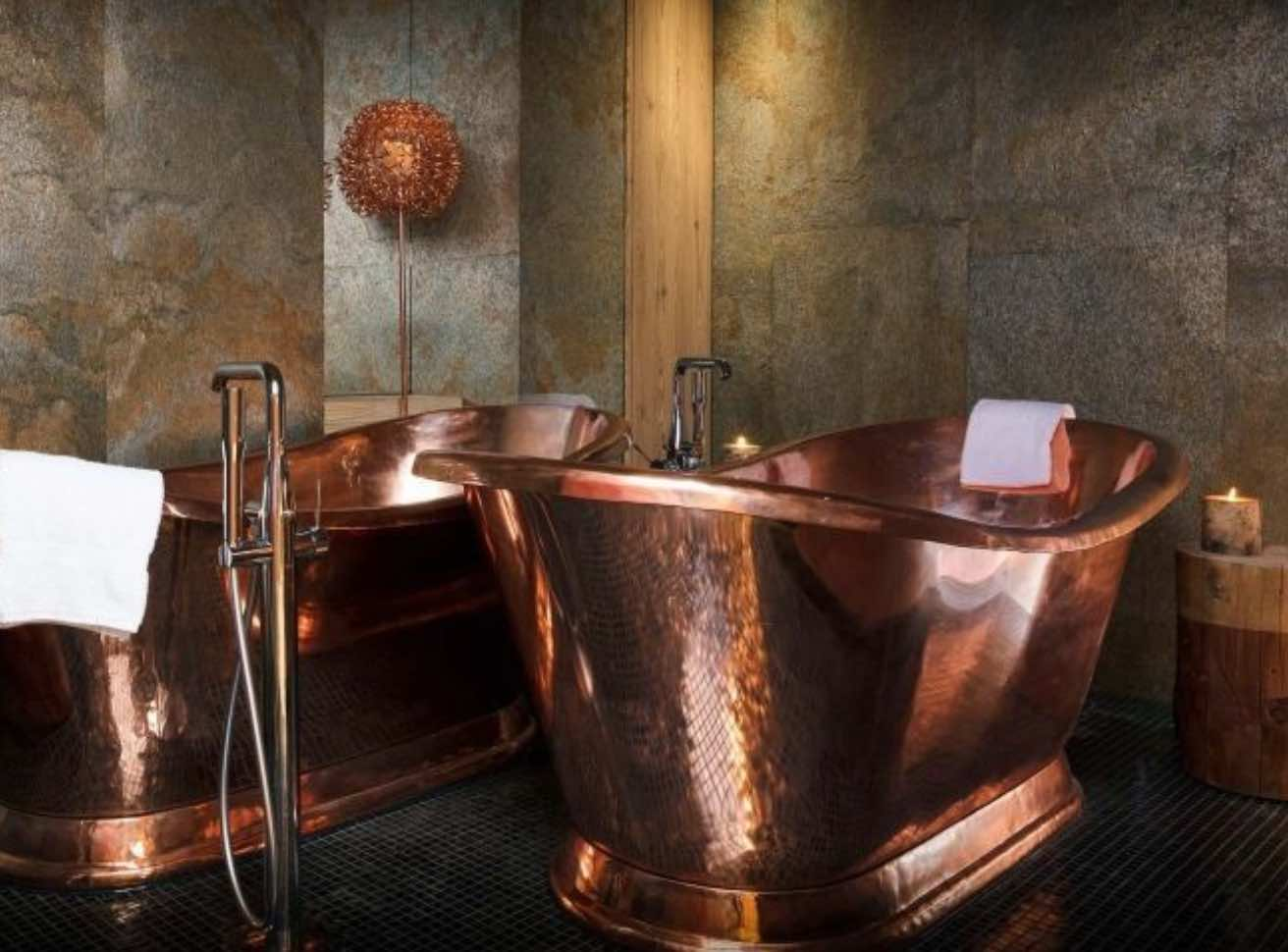 view of Bath bar of the hotel Les Grandes Rousses
