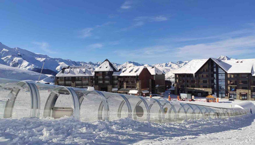 estación-de-esquí-cinta-transportadora