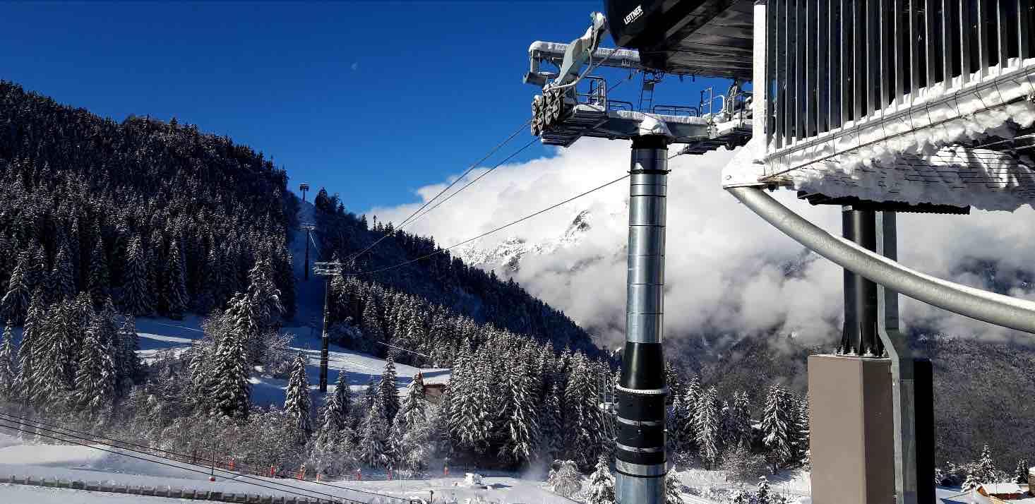 eau olle express zero carbon ski lift