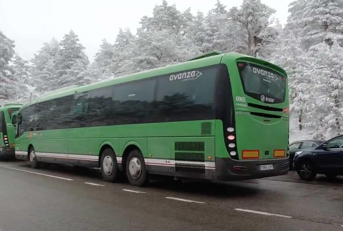 autobus lanzadera navacerrada