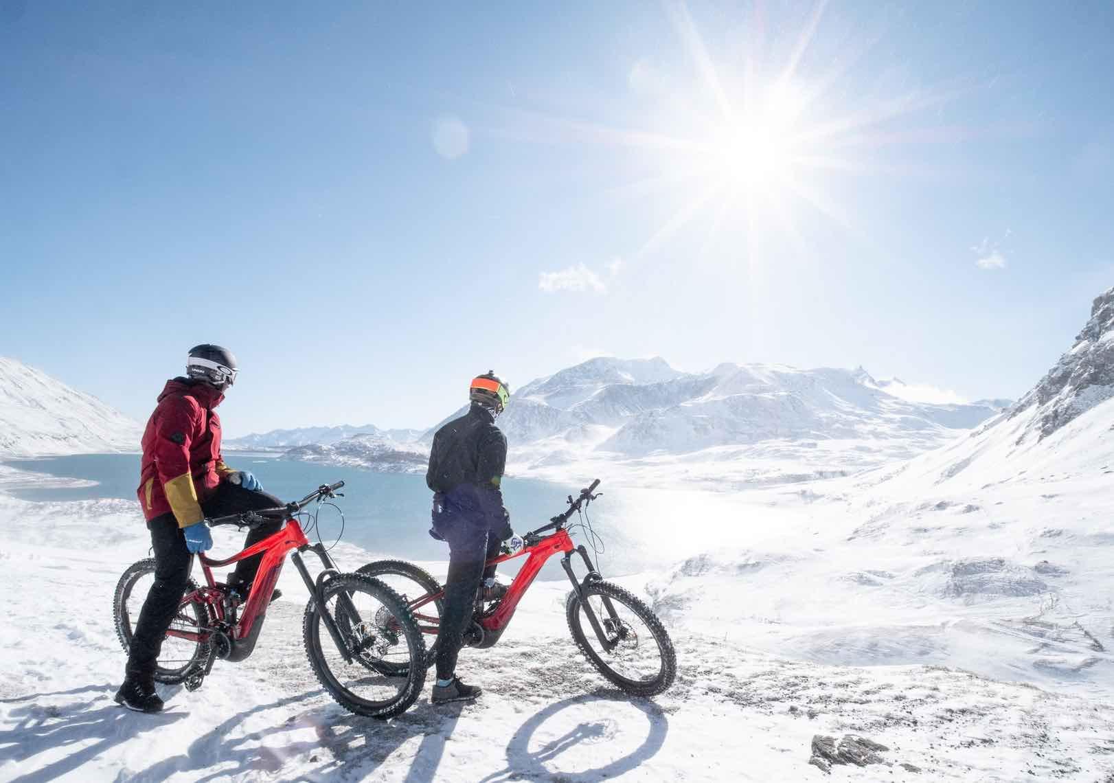VTT-neige-val-cenis