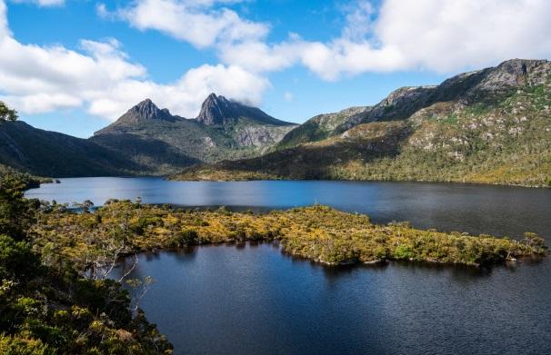 montaña más bonita del mundo Cradle Mountain