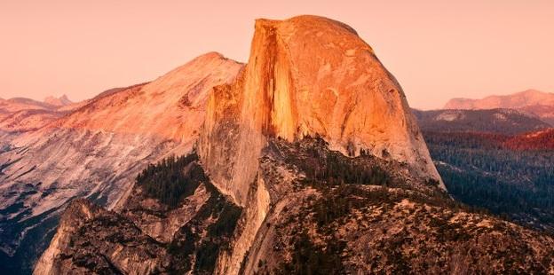 montaña más bonita del mundo Half Dome Yosemite