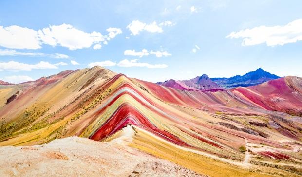 montaña más bonita del mundo Montañas de Colores