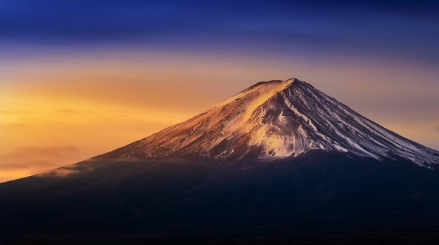 montaña más bonita del mundo Monte Fuji