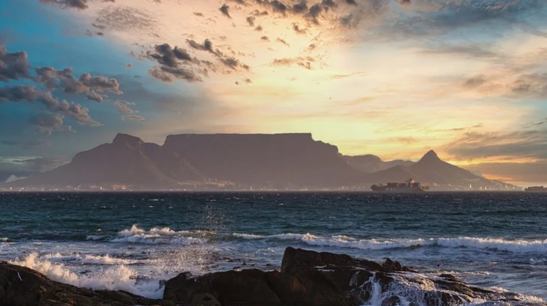 montaña más bonita del mundo Table Mountain