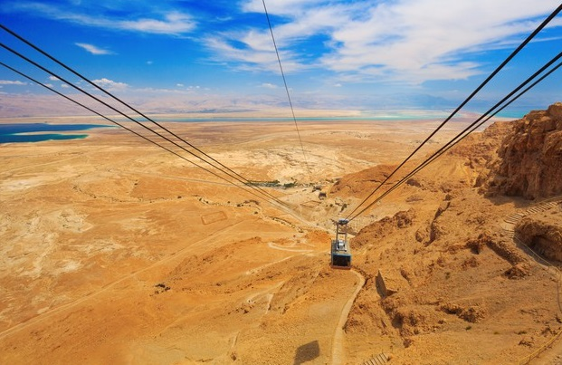 Teleféricos más espectaculares del mundo Masada
