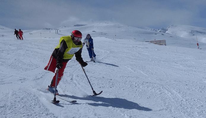 esquí adaptado Sierra Nevada